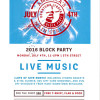 BLOCK PARTY ON JULY 4 – DOWNTOWN, LYNDEN!