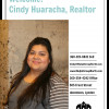 Cindy Huaracha, Real Estate Broker