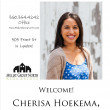 Welcome Cherisa Hoekema!